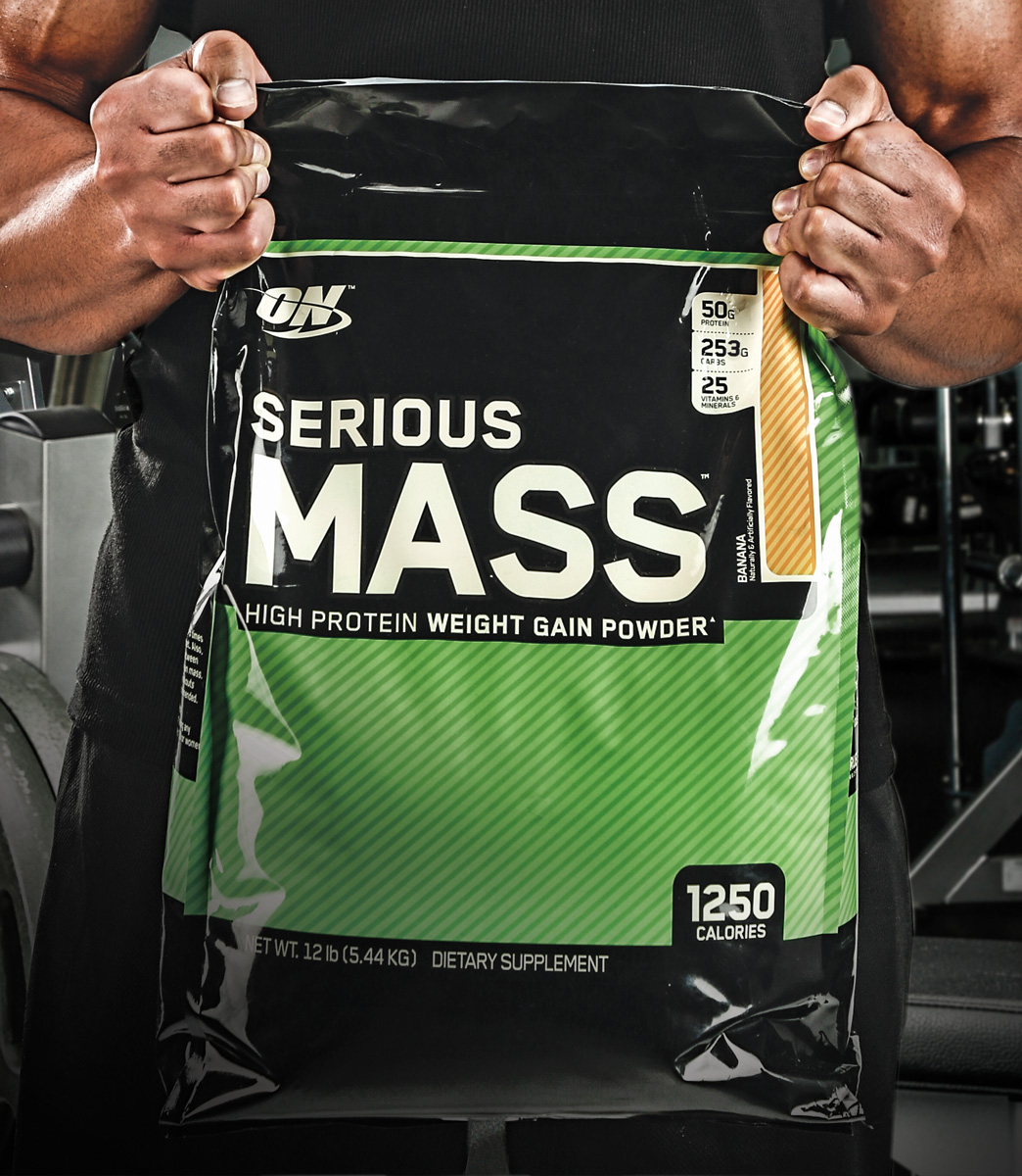 Optimum Nutrition Serious Mass 5,45 кг, фото 1
