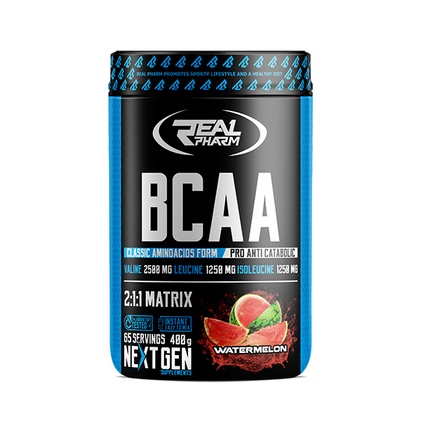 Real Pharm BCAA 400g, фото 1