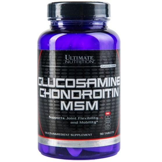 Glucosamine & Chondroitin MSM 90таб, фото 1