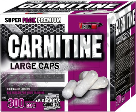 Vision Carnitine Large Caps 300 кап